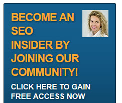 opt in banner for become an SEO insider with SEO expert Dagmar Gatell