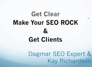 SEO insight webinar recording about defining your ideal client to make your SEO rock with Kay Ideaignitor Richardson