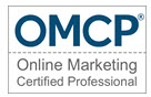 logo omcp online marketing certified profession, member SEO Expert Dagmar Gatell