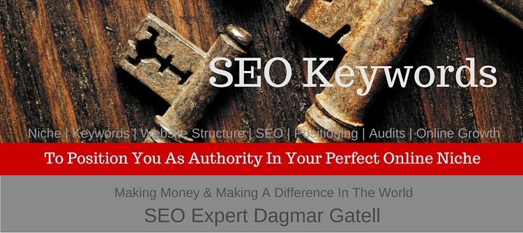 pciture of old keys with lettering SEO keywords, symbolizing the power of keywords when you grow your authority in your perfect online niche worldwide